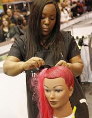 Hairdressing photo